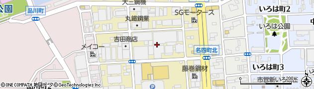 愛知県名古屋市港区砂美町周辺の地図