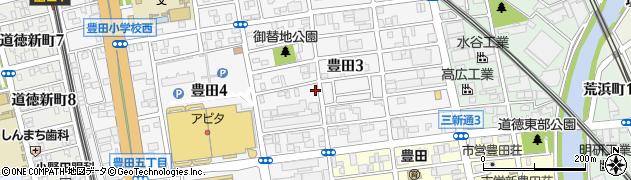 つくし周辺の地図