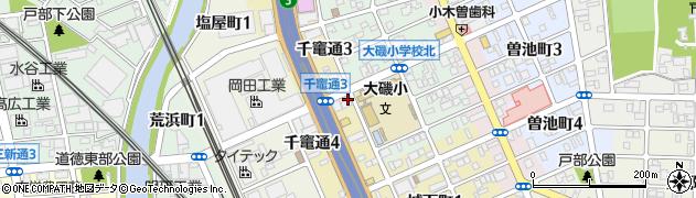喜八周辺の地図