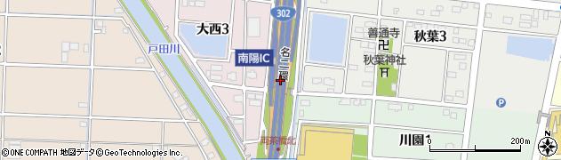 愛知県名古屋市港区南陽町大字茶屋新田(沼川原西上)周辺の地図