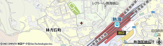桃山町市営住宅周辺の地図