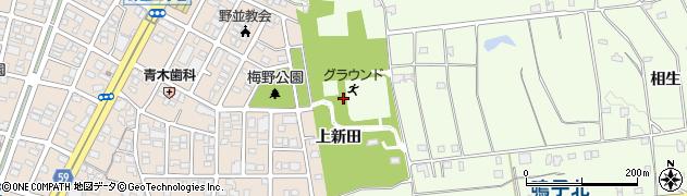 愛知県名古屋市天白区天白町大字野並(上新田)周辺の地図