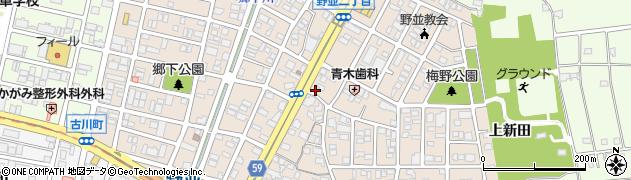 愛知県名古屋市天白区野並周辺の地図