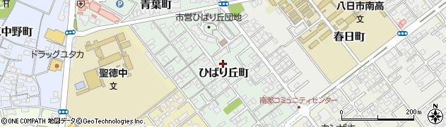 滋賀県東近江市ひばり丘町周辺の地図