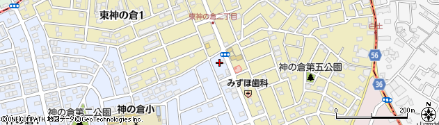 The・All・Day・Coffee・CAZAN 神の倉店周辺の地図