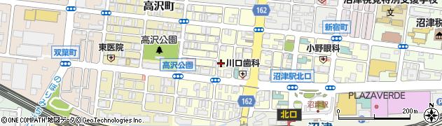 静岡県沼津市高島町周辺の地図