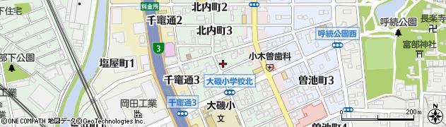 こころ周辺の地図