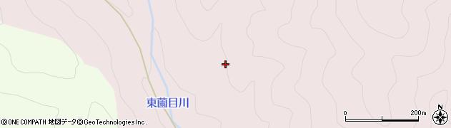 愛知県北設楽郡東栄町東薗目梨畑周辺の地図