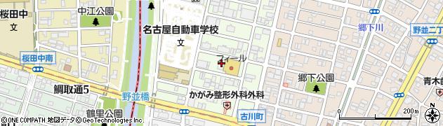 愛知県名古屋市天白区井の森町周辺の地図