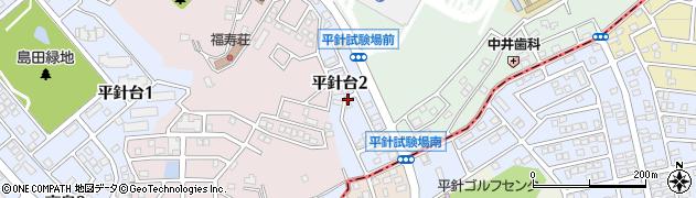愛知県名古屋市天白区平針台周辺の地図