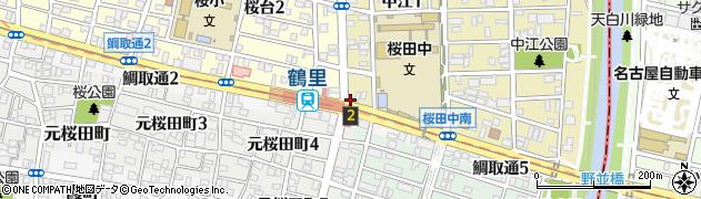 癒酒屋あかり周辺の地図