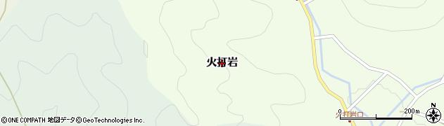 兵庫県丹波篠山市火打岩周辺の地図