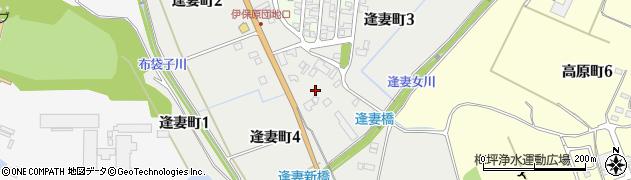 愛知県豊田市逢妻町周辺の地図
