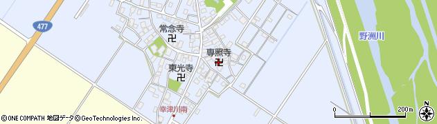 専照寺周辺の地図
