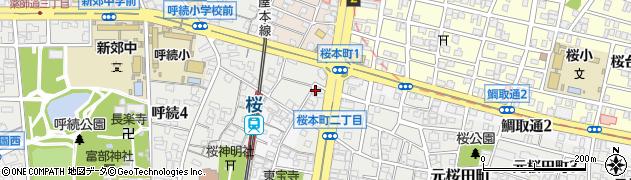 季彩酒房群周辺の地図