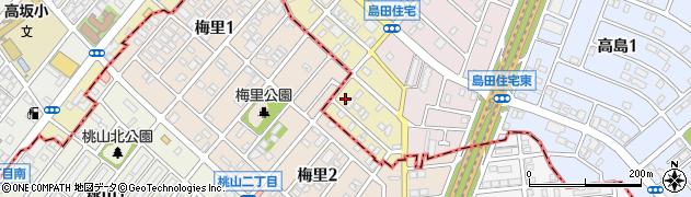 愛知県名古屋市天白区島田黒石周辺の地図