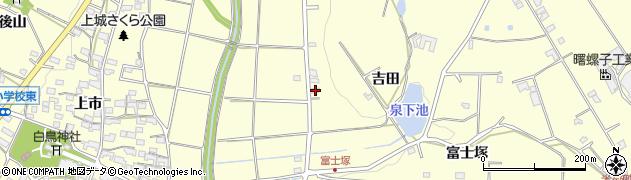 愛知県愛知郡東郷町諸輪畑尻山周辺の地図
