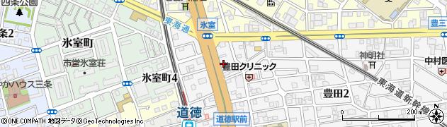 チャンティック名古屋周辺の地図