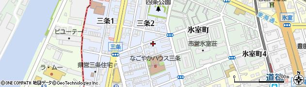 ZEN周辺の地図