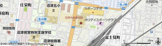静岡県沼津市杉崎町周辺の地図