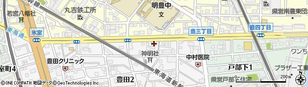 モリ周辺の地図