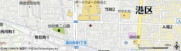 さんき周辺の地図
