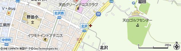 愛知県名古屋市天白区天白町大字野並(山ノ神)周辺の地図