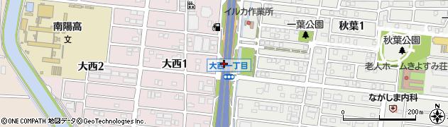 愛知県名古屋市港区南陽町大字茶屋新田(四番割)周辺の地図