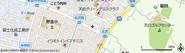 カラオケ喫茶友周辺の地図