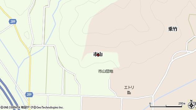 〒669-2718 兵庫県丹波篠山市市山の地図