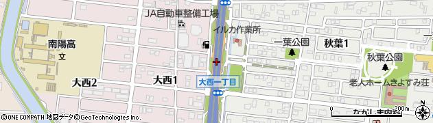 愛知県名古屋市港区南陽町茶屋後新田周辺の地図