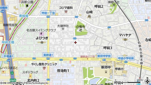 愛知県名古屋市南区岩戸町 郵便番号 〒457-0015:マピオン郵便番号