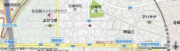 愛知県名古屋市南区岩戸町の地図 住所一覧検索 地図マピオン