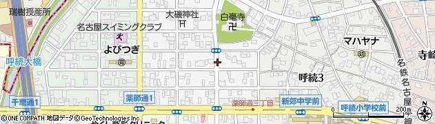 愛知県名古屋市南区岩戸町周辺の地図