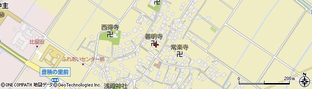 善明寺周辺の地図