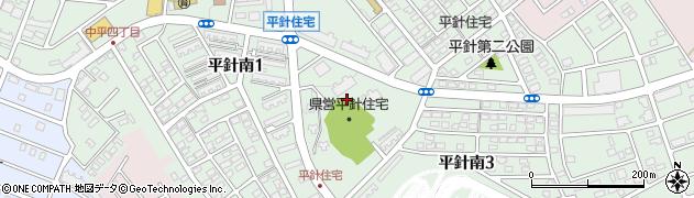 平針住宅周辺の地図