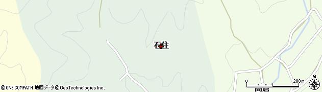 兵庫県丹波篠山市石住周辺の地図