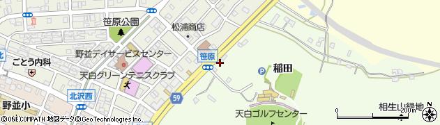 愛知県名古屋市天白区天白町大字野並(笹原)周辺の地図