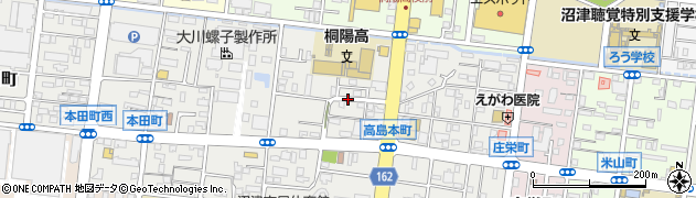 静岡県沼津市高島本町周辺の地図