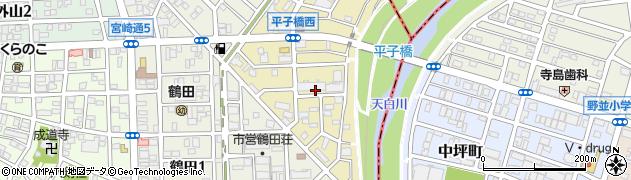 愛知県名古屋市南区大堀町周辺の地図