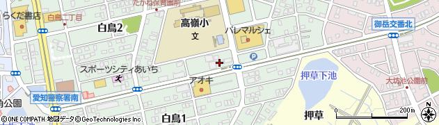 筑紫飯店周辺の地図