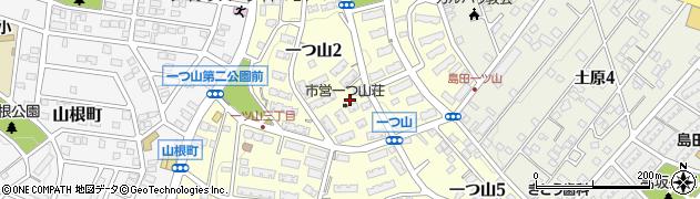 愛知県名古屋市天白区一つ山周辺の地図