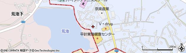 愛知県日進市赤池町(モチロ)周辺の地図
