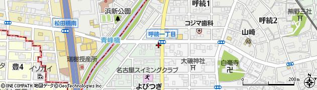 喜多よし周辺の地図