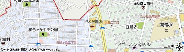 ナギー・カフェベーカリー周辺の地図