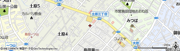 山岡寿し周辺の地図