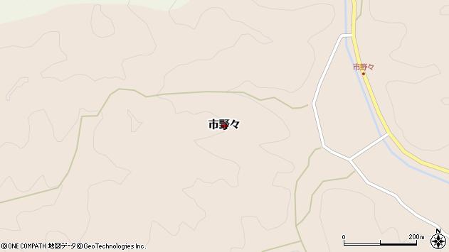 〒669-2613 兵庫県丹波篠山市市野々の地図