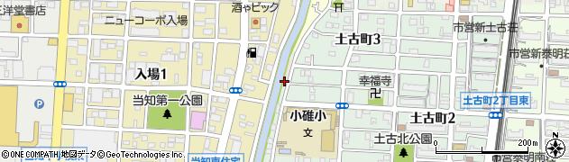 愛知県名古屋市港区寛政町周辺の地図