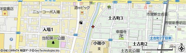 愛知県名古屋市港区寛政町(十五番)周辺の地図