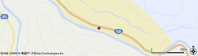 愛知県豊田市安実京町(向山)周辺の地図